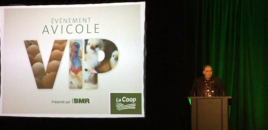 Les producteurs avicoles Coop réunis