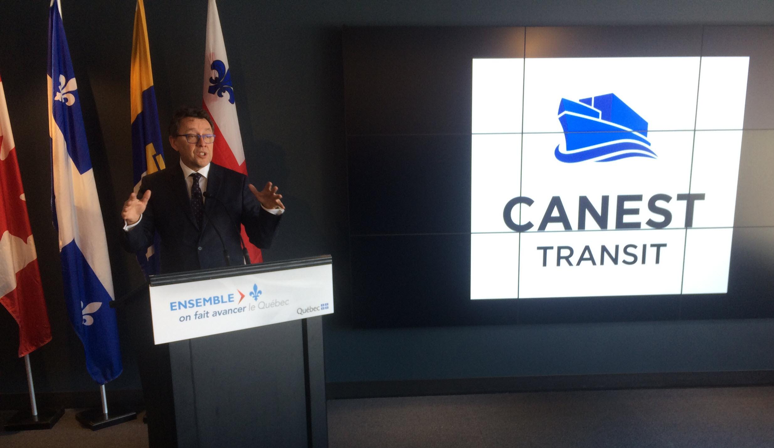 1,6 M$ pour CanEst Transit
