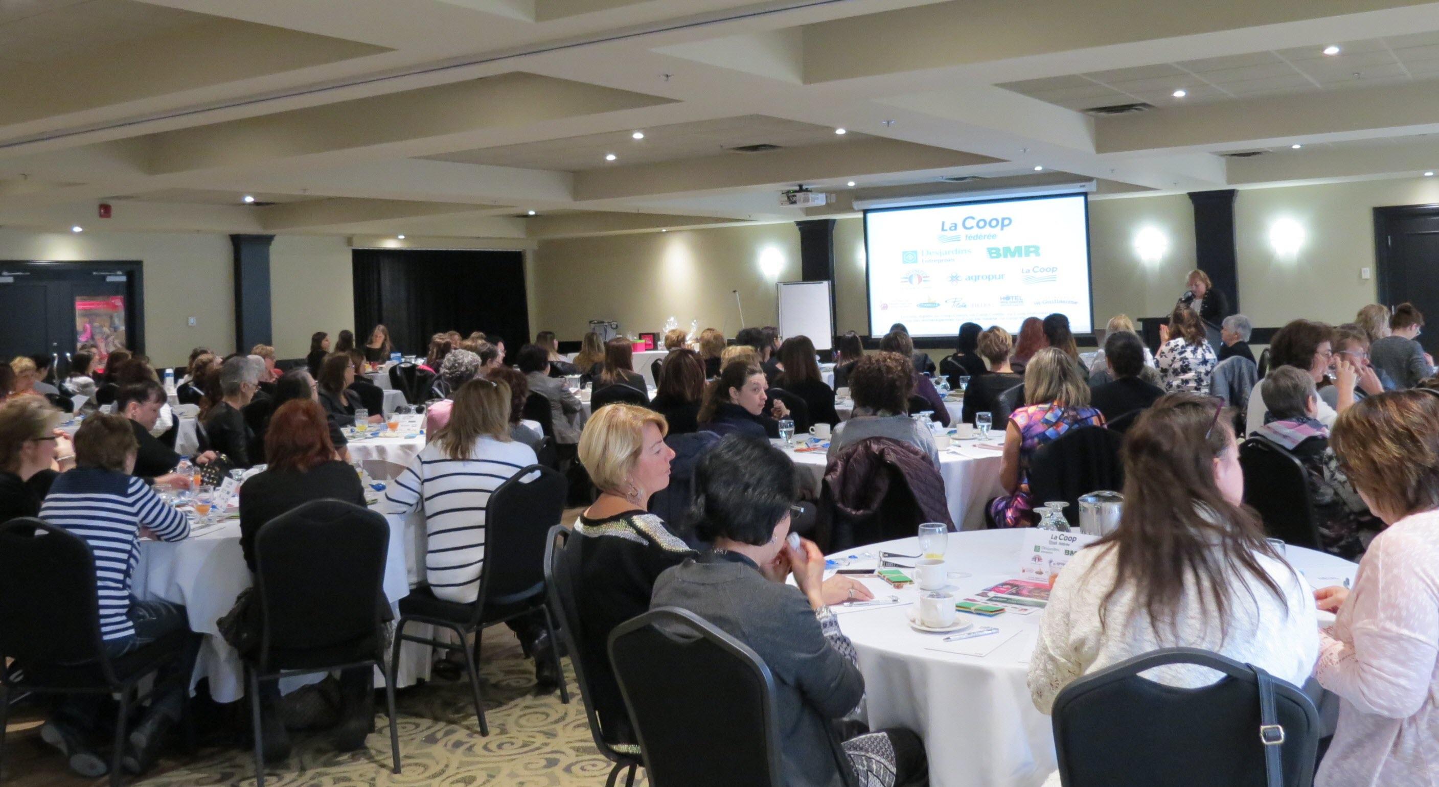 Le Forum féminin accueille 110 participantes