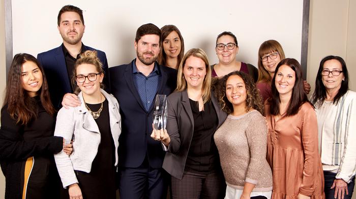 Le Groupe BMR reçoit un prix dans le cadre du Concours Boomerang!