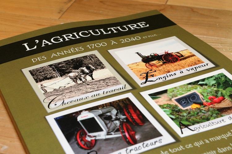 Lancement du livre « L'agriculture des années 1700 à 2040 »